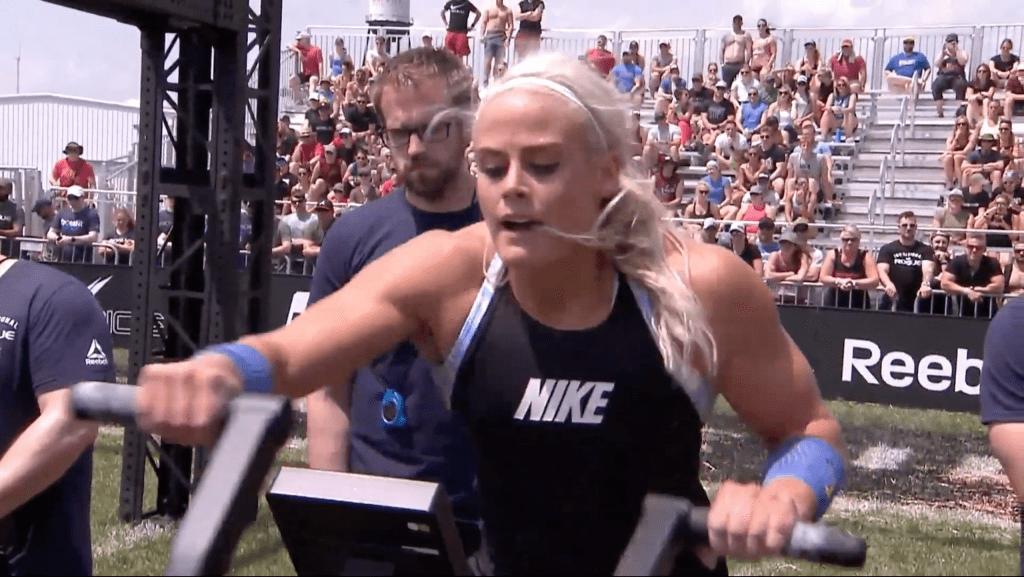 Sara Sigmundsdottir's event win was about five seconds faster than second-place finisher Katrin Davidsdottir.