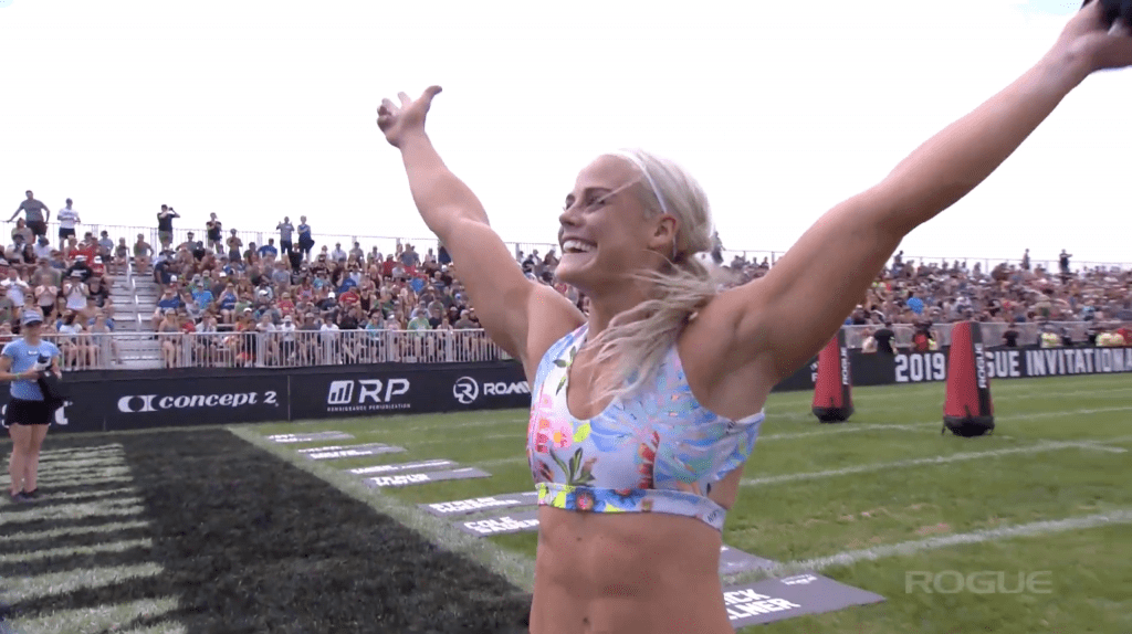 Sara Sigmundsdottir is six points behind Tia-Clair Toomey headed into the next elite individual event at the Rogue Invitational.